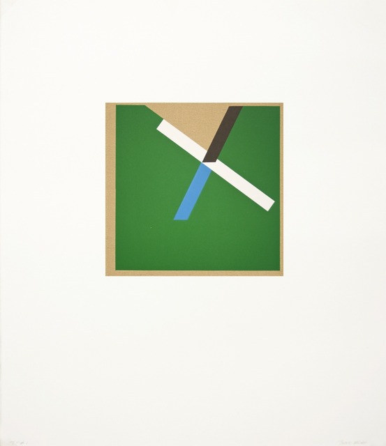 , 'Too Much Green IV,' 2012, Tamarind Institute