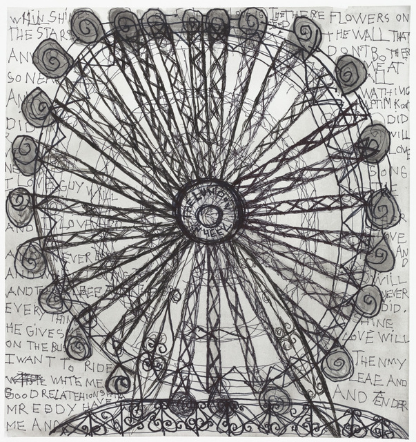 , 'The Lundon Wheel,' 2017, Creativity Explored