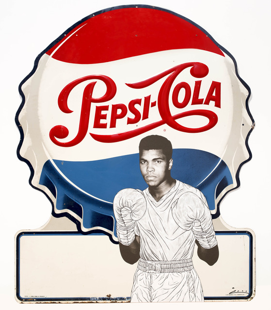 , 'Ali Guards on Pepsi,' 2014, Scream