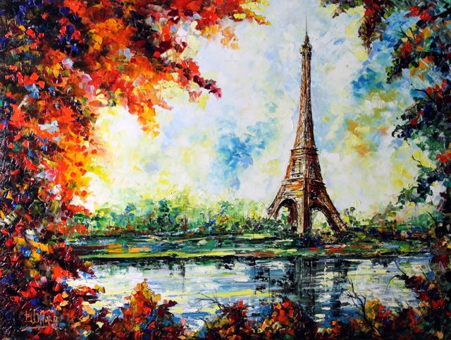 , 'La Torre Di Parigi,' 2016, Bitfactory Gallery