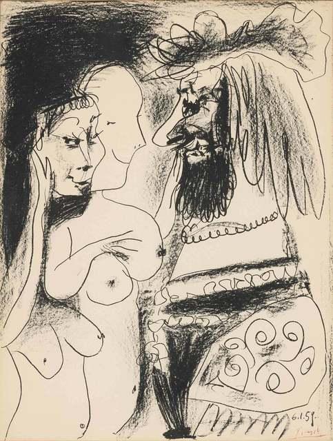 Pablo Picasso, 'LE VIEUX ROI (BLOCH 869)', 1959, Doyle