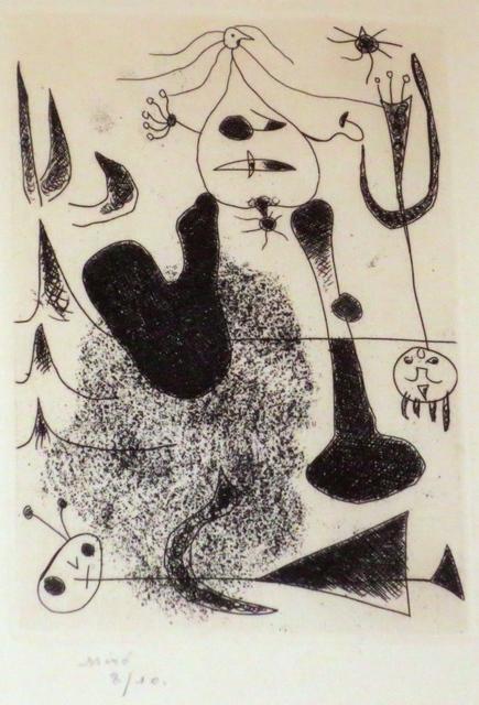 Joan Miró, 'Sablier couche', 1938, Isselbacher Gallery