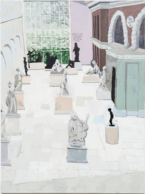 , 'Sculpture Court  ,' 2017, Joshua Liner Gallery