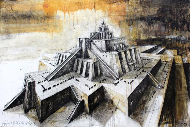 """, 'De la serie """"Huerfanos de Babel"""",' 2017, Victor Lope Arte Contemporaneo"""