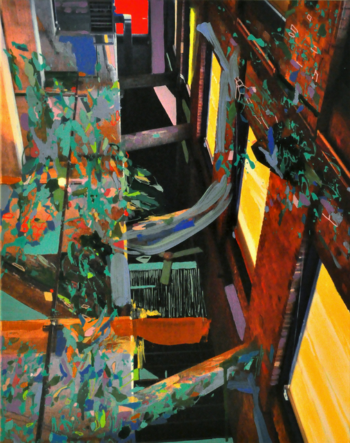 , 'Like Something Through The Hall,' 2015, Elisa Contemporary