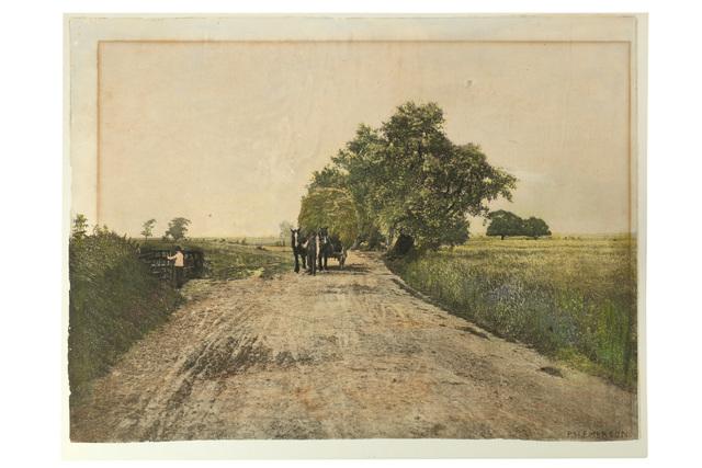 P. H. Emerson, 'Breezy Marshlands', c.1880s, Chiswick Auctions