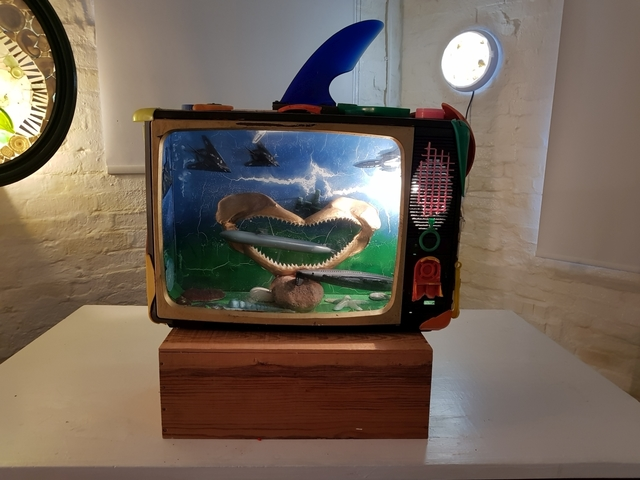, 'Plastic Toxic Subnormal,' 1995, Barewall Art Gallery