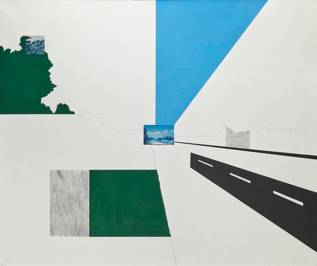 , 'Looking North at 131 Mile Marker,' 1965, Hollis Taggart Galleries