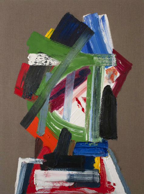 , 'Man on La Brea,' 2017, Luis De Jesus Los Angeles
