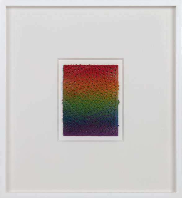 , 'Eight of Wands (White Sand #9 Mandala, Rainbow Gradient),' 2018, Gagosian