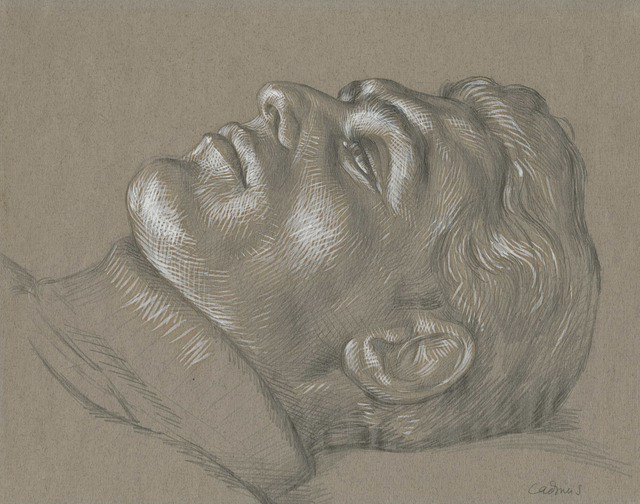 , 'Head of Man Reclining (C7),' , Childs Gallery