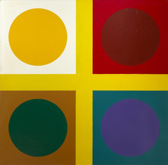 , 'Untitled ( tic tac toe painting),' 1967, Galleri Bo Bjerggaard