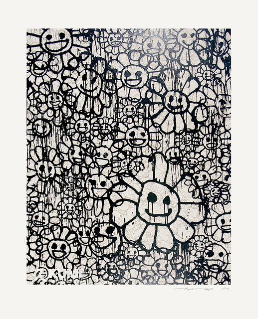 Takashi Murakami, 'Murakami x MADSAKI Flowers Beige B', 2017, Kumi Contemporary / Verso Contemporary