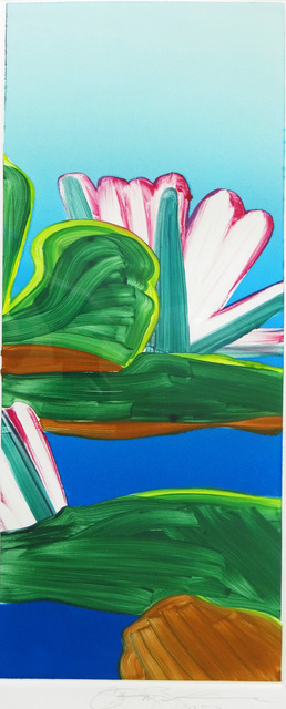 Gary Bukovnik, 'Monoprint of a Lotus', 1987, Joseph Grossman Fine Art Gallery