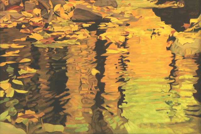 Ralph Wickiser, 'Yellow Reflections', 1981, Walter Wickiser Gallery