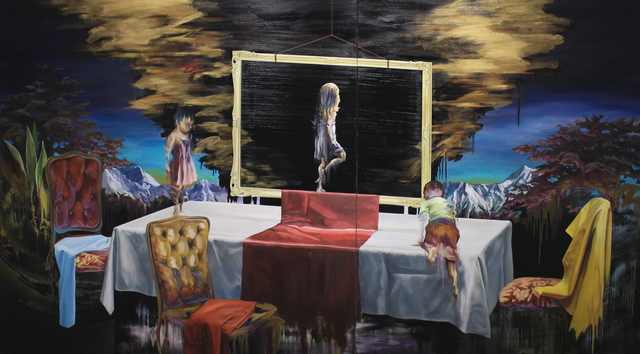 Azumi Naito, 'Gold cloud', 2015, Gallery Tsubaki