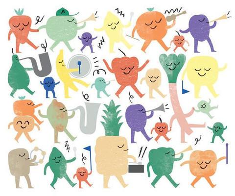 , 'Fruit Parade,' , ArtStar