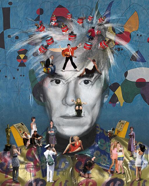 , 'Self Portrait Warhol,' 2011, Peimbert Art