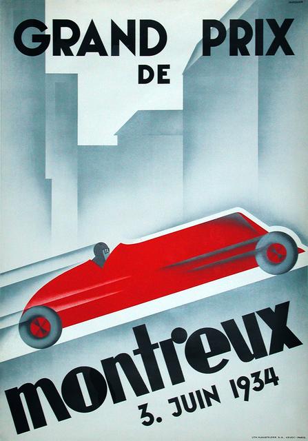 , 'GRAND PRIX DE MONTREUX 1934,' 1934, Omnibus Gallery