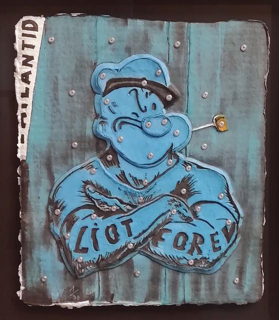 , 'Popeye,' 2019, Galerie Christiane Vallé