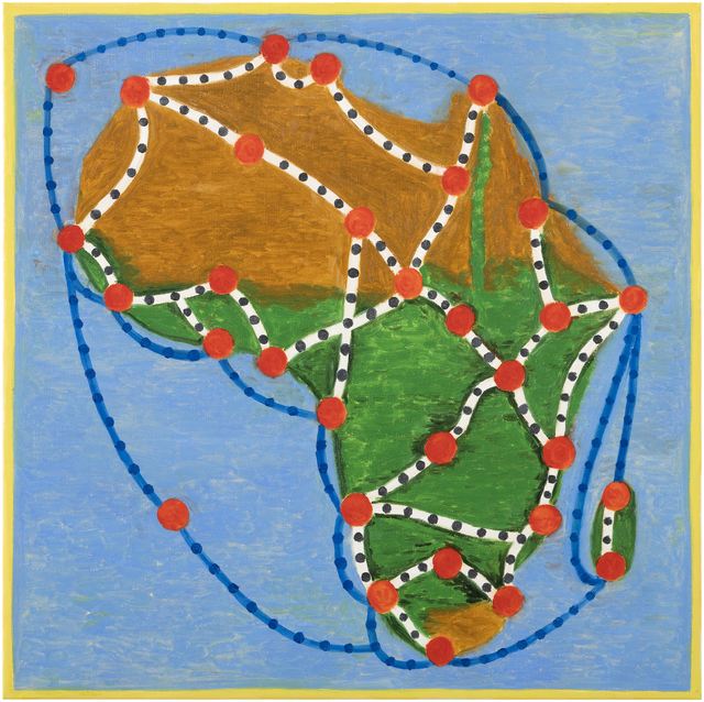 , 'The Star of Africa,' 2016, Galerie Anhava