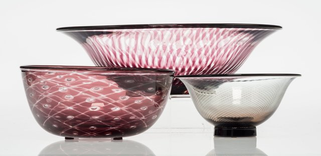 Edward Hald, 'Three Graal Bowls', Heritage Auctions
