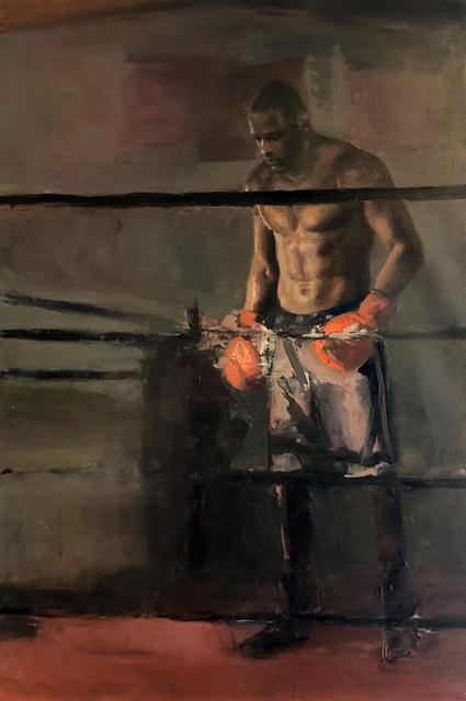 , 'Deontay Wilder in the Ring,' 2018, Gallery Victor Armendariz