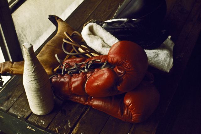 , 'Boxing gear in Chris Dundee's fifth street gym,' 1966, Galeria de Babel