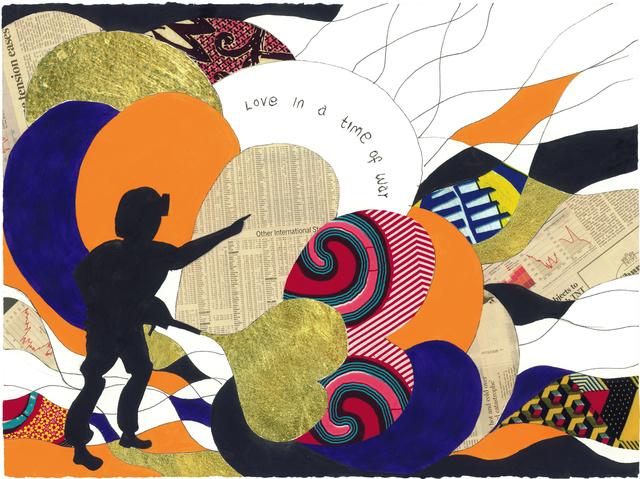 Yinka Shonibare CBE, 'Love in a Time of War 4', 2015, Zuleika Gallery