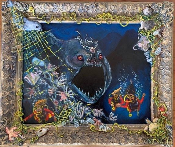 , 'Deep Sea Divers,' 2019, Front Room Gallery