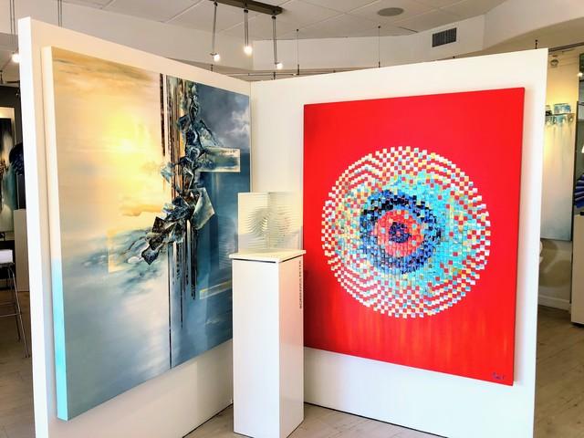 Nina K., 'Seeing Red', Painting, Oil on canvas, Avran Fine Art