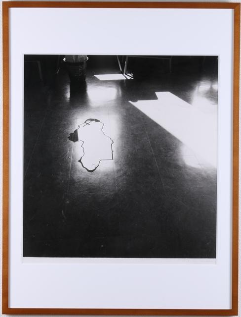 , 'Symptom-Floor, Water  (P.W.-No.50),' 1974, Kamakura