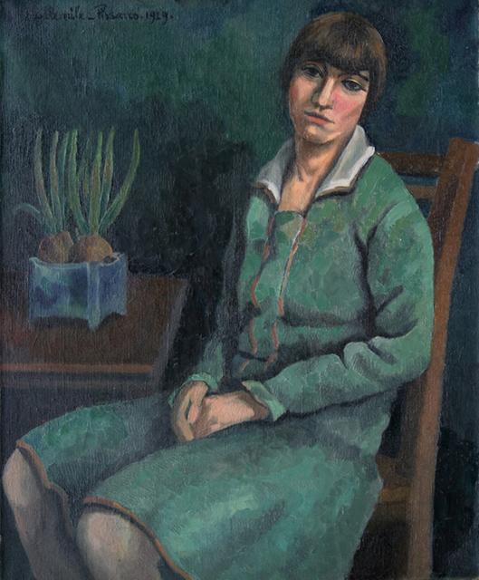 Paul-Emile Pissarro, 'Geneviève', 1929, Stern Pissarro