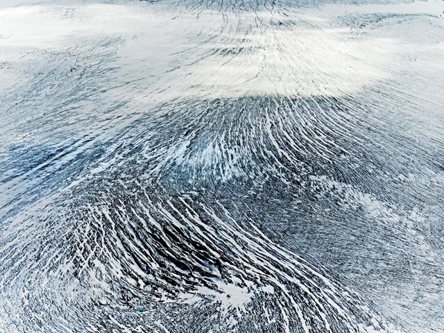 , 'Glacier Surface,' 2016, Hans Alf Gallery