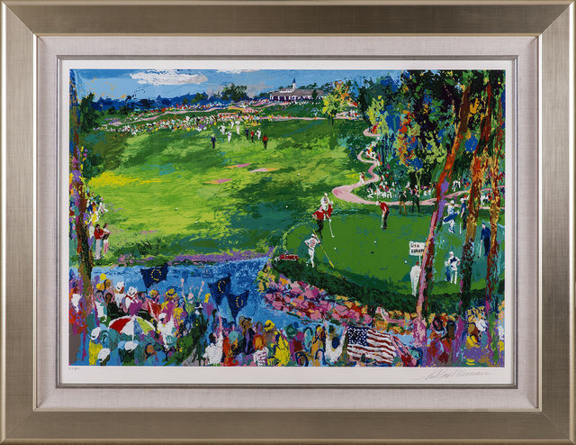 LeRoy Neiman, 'Ryder Cup Golf Limited Edition Signed Serigraph Scotty Circle T CT', 2007, Modern Artifact