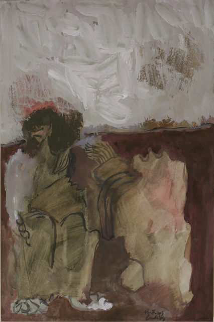 Sarkis, 'Untitled (1963.7.11)', 1963, Drawing, Collage or other Work on Paper, Mixed media on paper, Galerie Nathalie Obadia