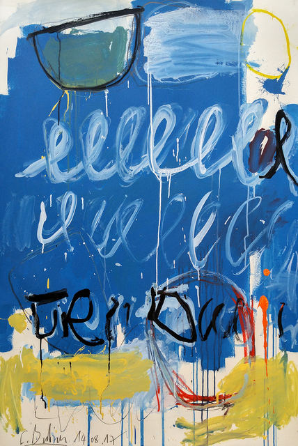 """, '""""Blue Twombly"""" ,' 2017, ARDT Gallery"""