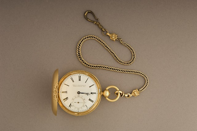 , 'Abraham Lincoln's Watch,' around 1858, Cooper Hewitt, Smithsonian Design Museum