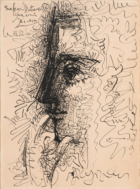 , 'Personnage de profil (Jacqueline),' 1960, DICKINSON