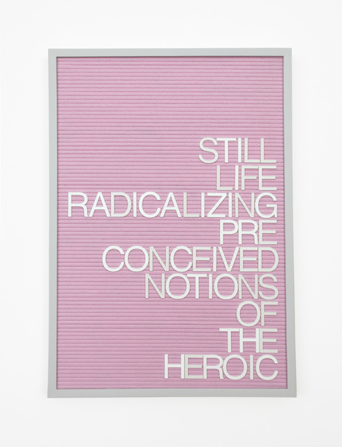 , 'Untitled / Notions Of The Heroic,' 2016, Gavlak