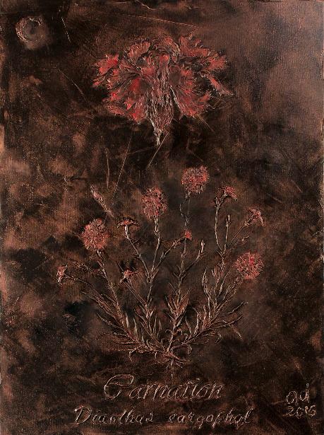 , 'Carnation,' 2016-2017, Exhibit 320
