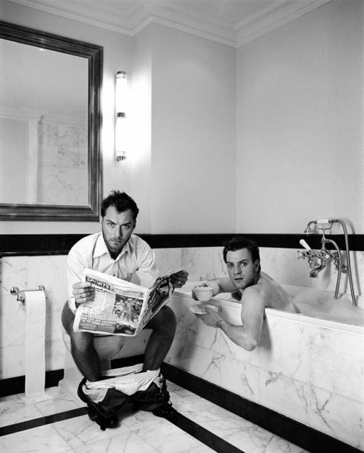 Lorenzo Agius, 'Jude and Ewan in the Bathroom', 2003, Alon Zakaim Fine Art