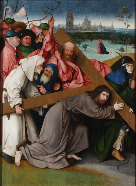 , 'Christ carrying the Cross,' ca. 1500, Museo Nacional del Prado