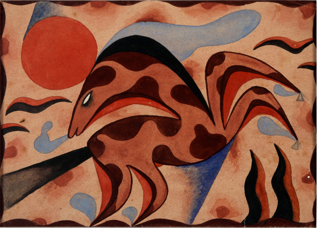 , 'Marina,' 1920, Galería Rubbers Internacional