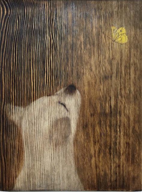 , 'Grain_Dog1,' 2016, Artflow