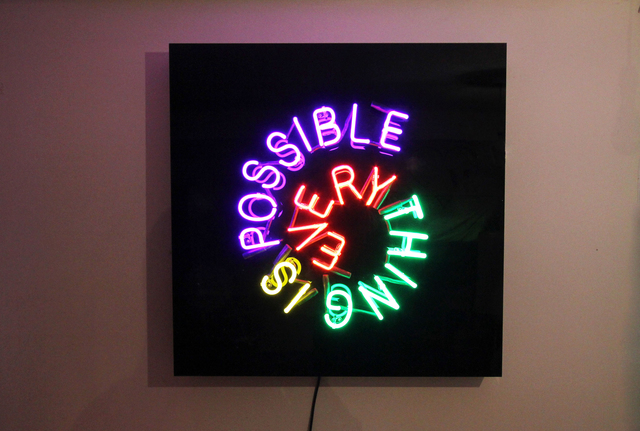, 'Everything Is Possible,' 2016, Lawrence Alkin Gallery