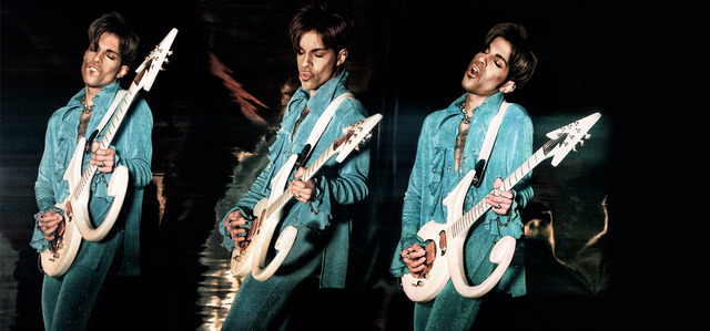 , 'Prince Playing Guitar,' 1999, Mouche Gallery