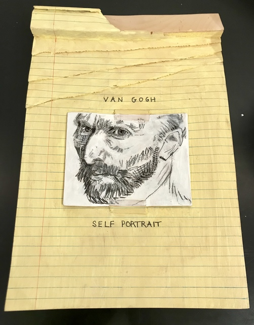 Randall Rosenthal, 'Legal Pad - Van Gogh', 2016, The Vickers Collection