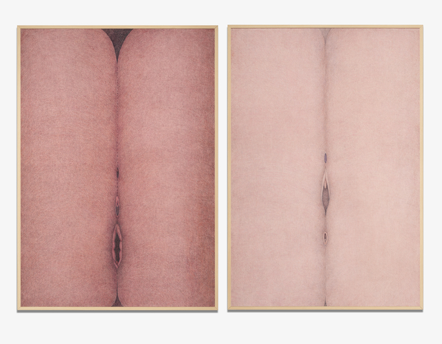 , 'Rose Vulvosa 1 & 2 (Vulvosa rosa 1 & 2),' 1979-1980, Henrique Faria Fine Art