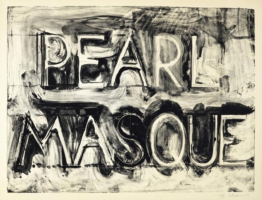 """BRUCE NAUMAN """"Pearl Masque"""", 1981"""